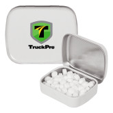 White Rectangular Peppermint Tin-Truck Pro