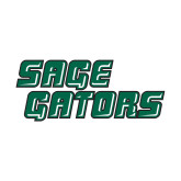 Small Decal-Sage Gators Wordmark, 6in Wide