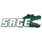 Extra Large Decal-Sage w/Gator Head, 18in Wide