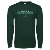 Dark Green Long Sleeve T Shirt-Sage Gators