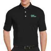Callaway Tonal Black Polo-Sage Gators Wordmark