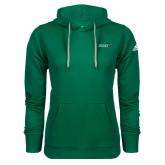 Adidas Climawarm Dark Green Team Issue Hoodie-Sage w/Gator Head
