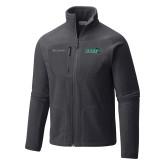 Columbia Full Zip Charcoal Fleece Jacket-Sage w/Gator Head