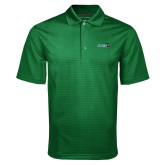 Dark Green Mini Stripe Polo-Sage w/Gator Head