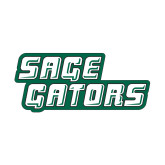 Small Magnet-Sage Gators Wordmark, 6in Wide