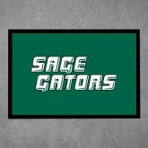 Full Color Indoor Floor Mat-Sage Gators Wordmark