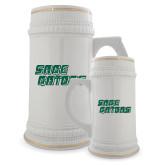 Full Color Decorative Ceramic Mug 22oz-Sage Gators Wordmark