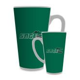Full Color Latte Mug 17oz-Sage w/Gator Head