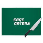 Cutting Board-Sage Gators Wordmark