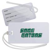 Luggage Tag-Sage Gators Wordmark