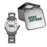 Mens Stainless Steel Fashion Watch-Sage Gators Wordmark