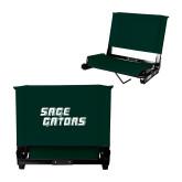 Stadium Chair Dark Green-Sage Gators Wordmark