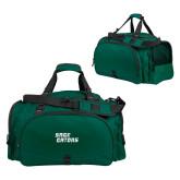 Challenger Team Dark Green Sport Bag-Sage Gators Wordmark