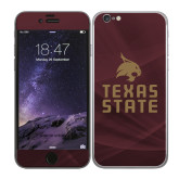 iPhone 6 Skin-Texas State Logo Stacked
