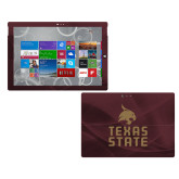 Surface Pro 3 Skin-Texas State Logo Stacked