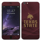iPhone 6 Plus Skin-Texas State Logo Stacked