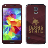Galaxy S5 Skin-Texas State Logo Stacked