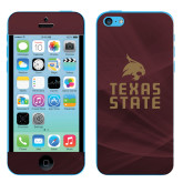 iPhone 5c Skin-Texas State Logo Stacked