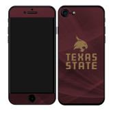 iPhone 7/8 Skin-Texas State Logo Stacked