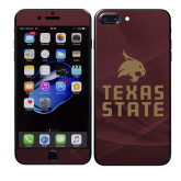 iPhone 7/8 Plus Skin-Texas State Logo Stacked