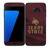 Samsung Galaxy S7 Edge Skin-Texas State Logo Stacked