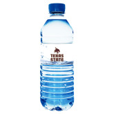Water Bottle Labels 10/pkg-Texas State Logo Stacked