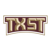 Medium Decal-TXST Texas State, 8 inches wide