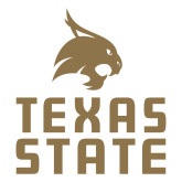 Large Decal-Texas State Logo Stacked, 12 inches tall