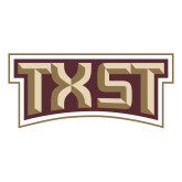 Large Decal-TXST Texas State, 12 inches wide