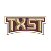Small Decal-TXST Texas State, 6 inches wide