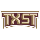 Extra Large Decal-TXST Texas State, 18 inches wide
