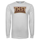 White Long Sleeve T Shirt-TXST
