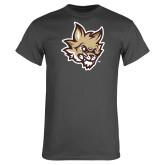 Charcoal T Shirt-Mascot Head