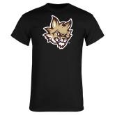 Black T Shirt-Mascot Head