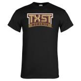 Black T Shirt-TXST Bobcats