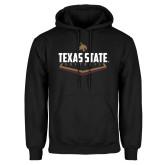 Black Fleece Hoodie-Texas State Softball