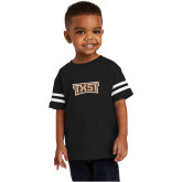 Toddler Black Jersey Tee-TXST Texas State