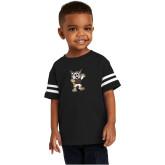 Toddler Black Jersey Tee-Bobcat Mascot