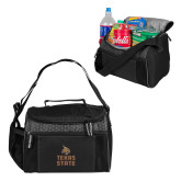 Edge Black Cooler-Texas State Logo Stacked