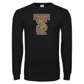 Black Long Sleeve T Shirt-Baseball TS