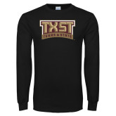 Black Long Sleeve T Shirt-TXST