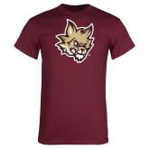 Maroon T Shirt-Mascot Head