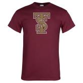 Maroon T Shirt-Baseball TS