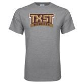 Grey T Shirt-TXST Bobcats
