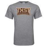 Grey T Shirt-TXST