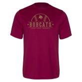 Performance Maroon Tee-Bobcats Baseball