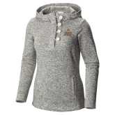Columbia Ladies Darling Days Sea Salt Pullover-Texas State Logo Stacked