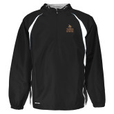 Holloway Hurricane Black/White Pullover-Texas State Logo Stacked