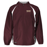 Holloway Hurricane Maroon/White Pullover-TXST Texas State