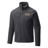 Columbia Full Zip Charcoal Fleece Jacket-TXST Texas State